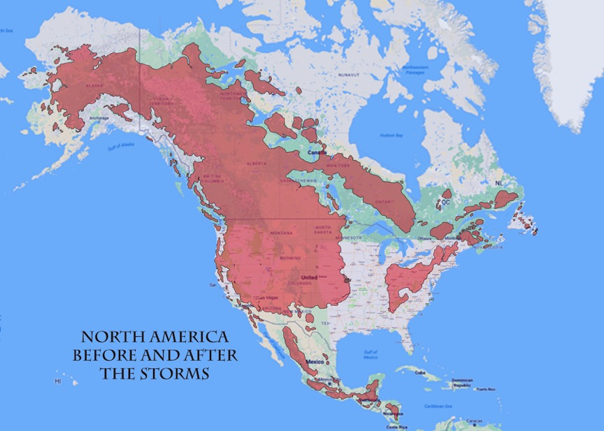 Edge Map North America